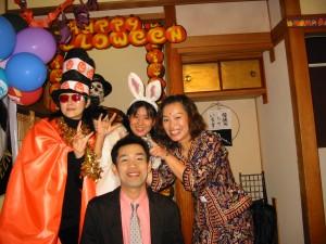 ハロウィンパーティーにて IN宮崎