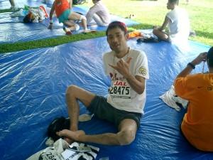 2005年ホノルルマラソン挑戦