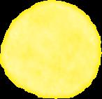 黄色円模様